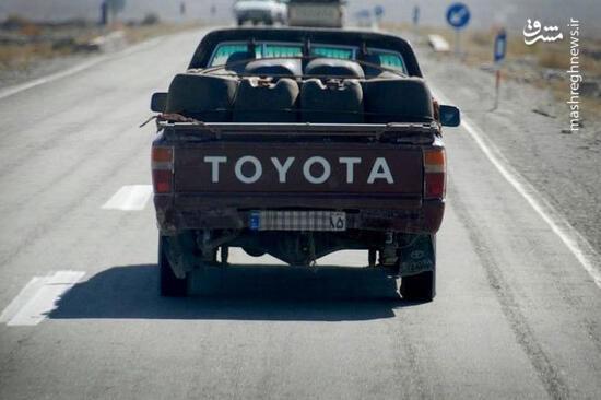 حرکات عجیب یک خودروی قاچاق سوخت در سیستان! + فیلم