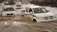 افزایش حجم آب در سد وشمگیر/مسدود شدن محور های منتهی به شاهرود/ دو کودک به علت سیلاب فوت شدند