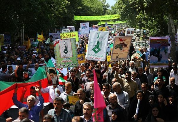 شرکت در راهپیمایی روز قدس وظیفه اخلاقی و مدنی است