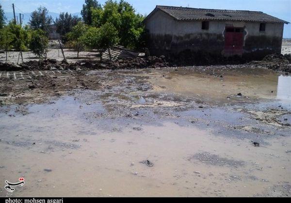 حال و هوای مناطق سیلزده آققلا بعد از گذشت ۲ ماه به روایت تصویر