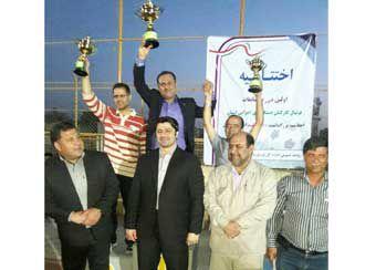 حاشیه های تصویری دیدار نهایی لیگ فوتبال ادارات استان گلستان