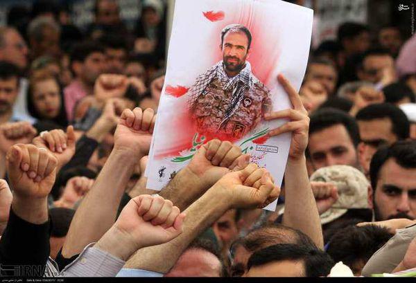 گزارش تصویری تشییع پیکر جهانگیر جعفری نیا، شهید مدافع حرم