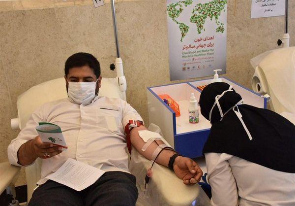کمک مومنانه اصحاب رسانه گلستانی با اهدای خون