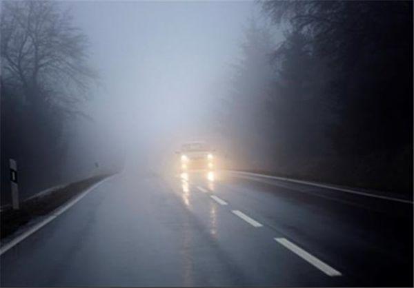 مه غلیظ در محور بجنورد-جنگل گلستان