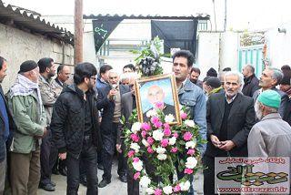 درگذشت پدر شهیدان حسینی طلب در آزادشهر   پرینت