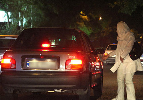 گزارش ازمزاحمت های خیابانی در تهران +تصاویر
