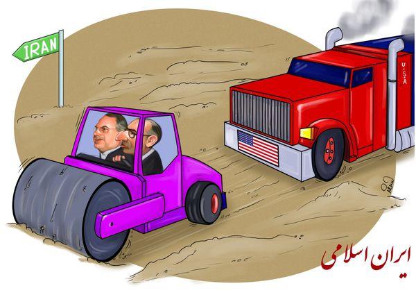 کاریکاتور/ کار شیفتی روشنفکرنماها روی غلطک!