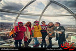 کشف حجاب گروه ماه بانو در لندن +عکس