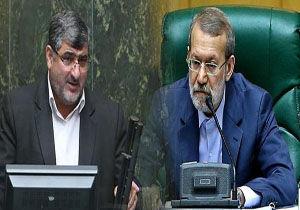 فیلم / جدال لفظی یکی از نمایندگان مجلس با لاریجانی در صحن علنی