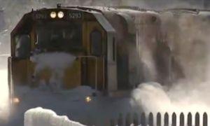 حرکت مجدد قطار تهران ـ گرگان از زیرآب