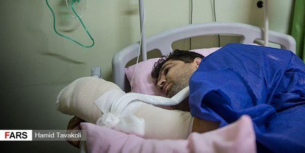بلایی که اشرار بر سر مدافعان وطن آوردند+تصاویر