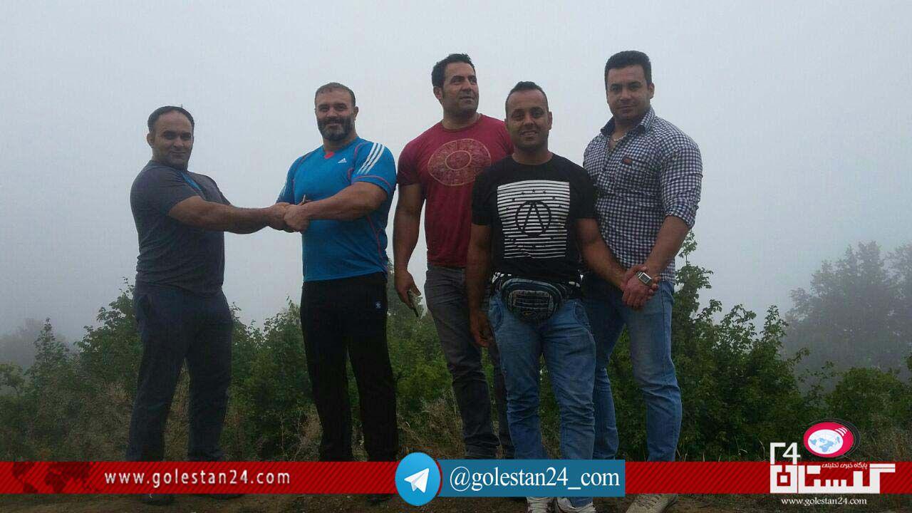 قویترین مردان ایران کردکوی 1