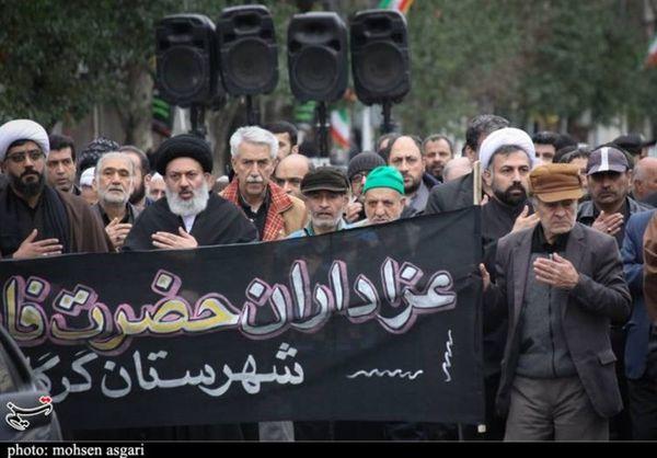 آئینهای عزاداری شهادت حضرت فاطمه(س) در گلستان برگزار شد+تصاویر