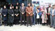 مسئولان ورزش گلستان از بانوی تکواندوکار استقبال کردند