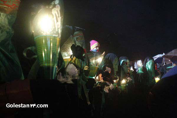 شام غریبان شهرستان کردکوی در زیر باران الهی2