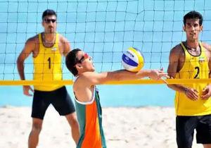 حضور ملی پوشان گلستانی در تور بین المللی تک ستاره والیبال ساحلی بابلسر