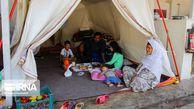 پایان چادرنشینی سیلزدگان گمیشان و چند خبر کوتاه از گلستان