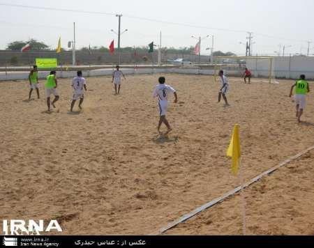 رقابت های فوتبال ساحلی جوانان کشور به میزبانی گلستان آغاز شد