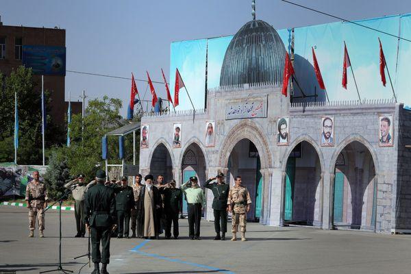 فیلم/ حضور فرمانده کل قوا در دانشگاه افسری و تربیت پاسداری امام حسین علیهالسلام