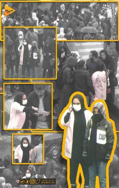 فیلم / ماجرای لیدرهای زن در تظاهرات چیست؟