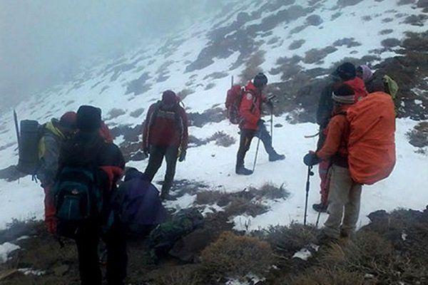 کوهنوردان گلستانی پیدا شدند/ افراد در سلامت هستند