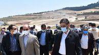 سفر فرمانده قرارگاه سازندگی خاتم الانبیا(ص) به گلستان