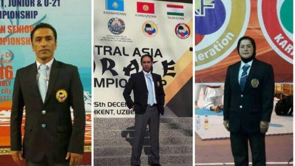 قضاوت ۳ داور گلستانی در مسابقات انتخابی تیم ملی کاراته