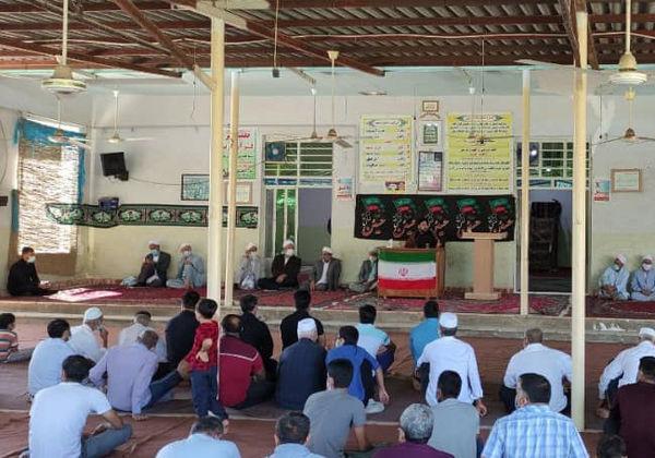 مراسم هفته دفاع مقدس و اربعین حسینی در شهر تاتار علیا