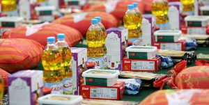 توزیع ۲۰۰ بسته حمایتی بین هیئت های مذهبی شرق گلستان