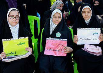 تصاویر/ پویش مردمی «عفاف و حجاب» در علی آبادکتول