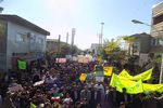 برگزاری راهپیمایی ضد استکباری 13 آبان در گمیشان+تصاویر
