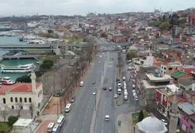 فیلم/ خیابانهای خلوت آنکارا در پی شیوع کرونا