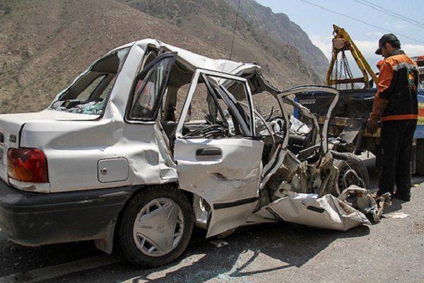افزایش تصادفات منجر به خسارات در جادههای گرگان
