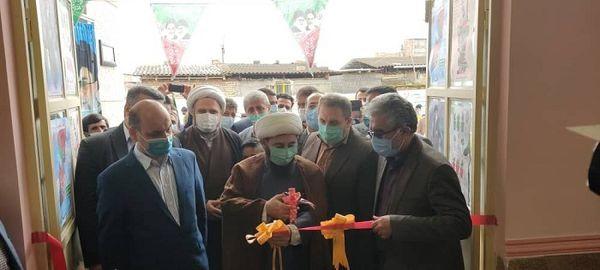 افتتاح مدرسه سه کلاسه برکت شهرستان رامیان