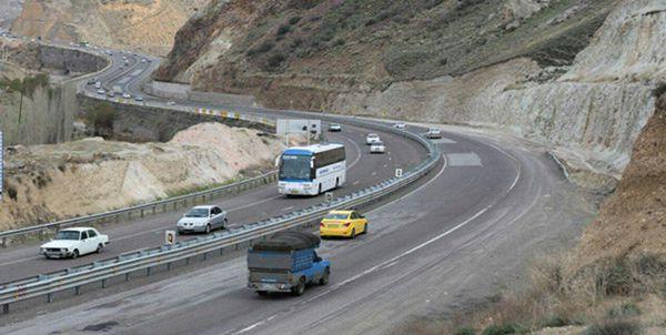 انسداد 2 روزه محور هراز از 20 آبان/ ترافیک روان در محورهای شمال-تهران