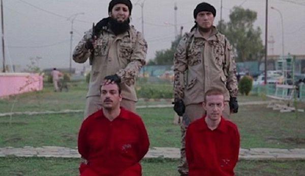 سربریدن دو گروگان در پارک کودکان داعش !