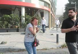 فیلم/ مردم بُهتزده بیروت پس از انفجار
