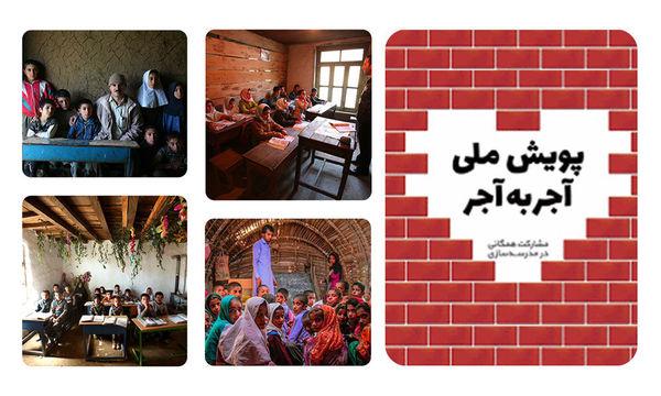 مشارکت 8275 نفر در پویش ملی «آجر به آجر» استان گلستان