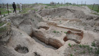 جرجان یادگار شهرنشینی ایرانیان/معماری باستانی بیرون زده از دل خاک