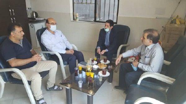 بازدید از انبار توزیع بذر سویا کارگزاری مصدق در شهرستان کردکوی گلستان