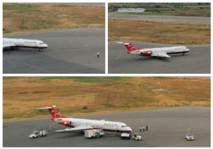برنامه پرواز فرودگاه بین المللی گرگان، شنبه هجدهم آبان ماه