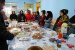 ترویج فرهنگ اقتصاد مقاومتی در یک مدرسه ترکمن در غرب گلستان+عکس