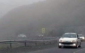 الزام احتیاط رانندگان در محور خوش ییلاق