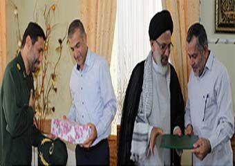 فعالان رسانهای گلستان با خانواده شهید «سیدحمیدرضا حسینی» دیدار کردند + تصاویر