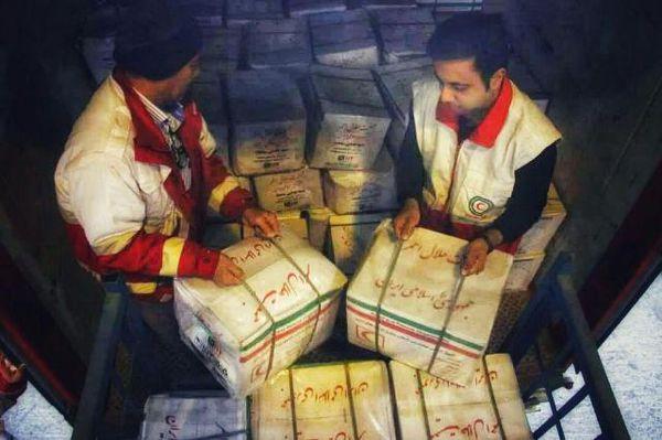 ارسال محموله امدادی به مناطق سیل زده سیستان و بلوچستان