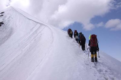 نجات ۲ کوهنورد گمشده در ارتفاعات رامیان گلستان