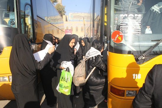 اعزام دانش آموزان آزادشهری به اردوی راهیان نور