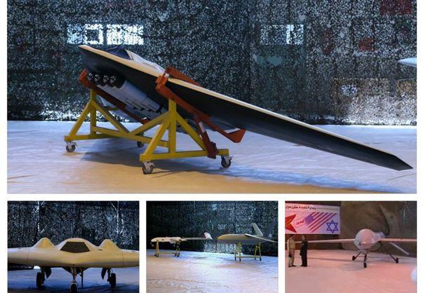 نمایش اولین بمبافکن ساخت سپاه + تصاویر