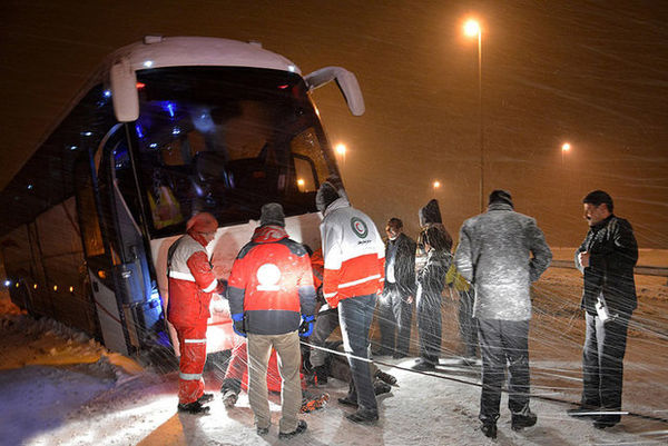 ۱۲ تیم عملیاتی هلال احمر گلستان به ۳۸۹ نفر امدادرسانی کردند