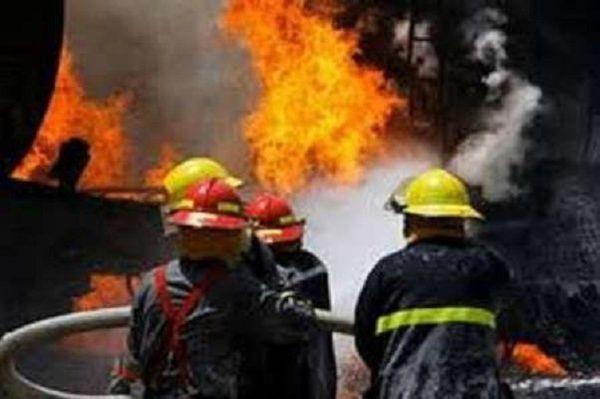 آتش سوزی مغازه مرغ فروشی در گرگان/اتصالی برق علت حادثه